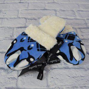 NWT Vera Bradley Women's Slippers Penguins Blue